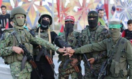 Des exercices militaires conjoints pour la résistance palestinienne