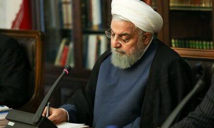 Le président Rouhani appelle la communauté internationale à affronter le régime sioniste