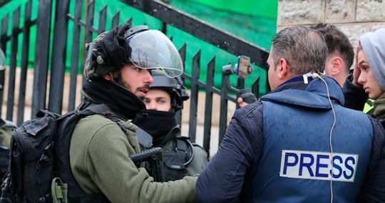 26 journalistes palestiniens derrière les barreaux d'occupation