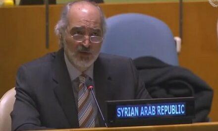 Bachar al-Jaafari : La Syrie ne s'inclinera pas devant de prétendus faits accomplis au Golan ou ailleurs…