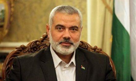 Haniyeh renouvelle sa demande au roi Salmane de libérer les détenus du Hamas