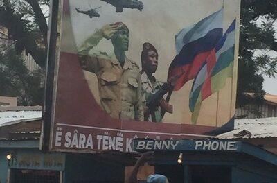 Moscou s'engage militairement en Centrafrique
