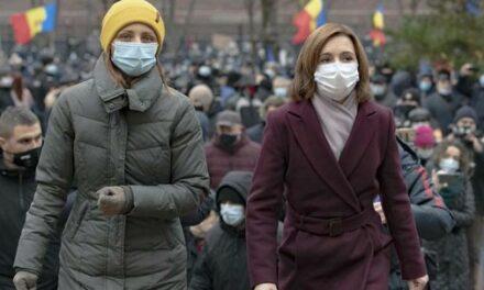Moldavie : la présidente élue appelle à manifester pour la soutenir contre la Parlement