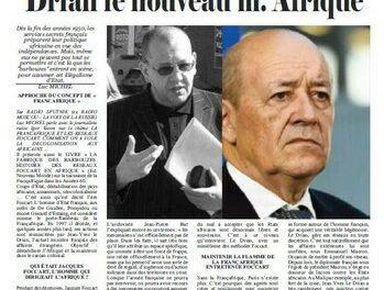 Les réseaux Focart, la Françafrique et le ministre Le Drian la nouveau Mr Afrique