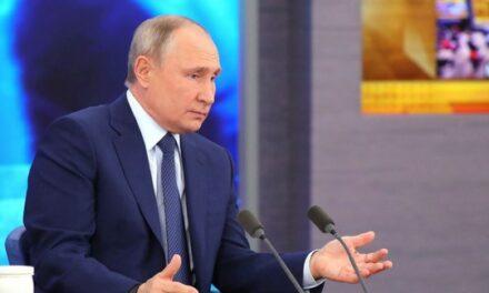 La conférence de presse annuelle de Vladimir Poutine