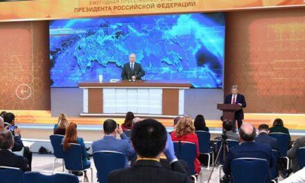 La conférence de presse annuelle de Vladimir Poutine (II) : Pétrole, gaz et économie russe