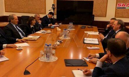 Miqdad et Bogdanov examinent les développements de la situation en Syrie