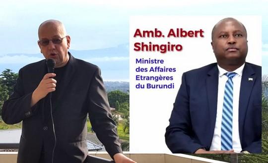 Albert Shingiro ministre des affaires étrangères du Burundi : victoire décisive de Gitega à l'ONU