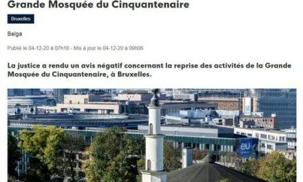 Bruxelles : des soupçons d'espionnage marocain à la Grande Mosquée du cinquantenaire