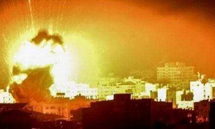 Dix raids israéliens et bombardements intensifs sur la bande de Gaza Ce samedi 26 décembre 2020