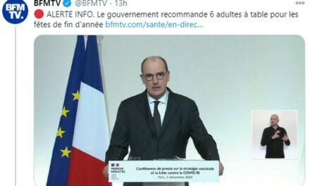 Le retour de la Terreur en France : quand le Gouvernement réglemente Noël à la sauce Covid