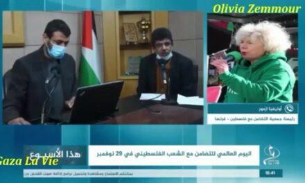 Une émission radio à Gaza sur la solidarité francophone avec le peuple palestiniens -vidéos-