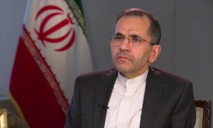 Takht-Ravanchi: l'Iran n'est pas pressé pour négocier avec les États-Unis