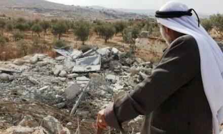 Israël a démoli 729 bâtiments palestiniens en 2020