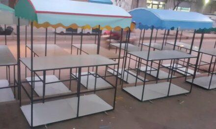 Les 100 chariots de vente mobile pour les jeunes démunis de Gaza