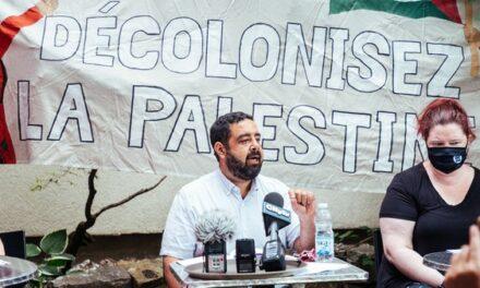 Des artistes et des universitaires de Montréal s'opposent à un accord de libre échange afin de défendre les droits des Palestiniens