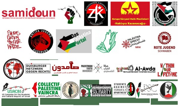 Solidarité avec Palästina Antikolonial de Münster en Allemagne