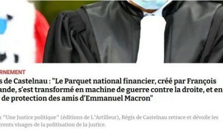 Le PNF créé par Hollande, outil principal du dévoiement politique de la justice