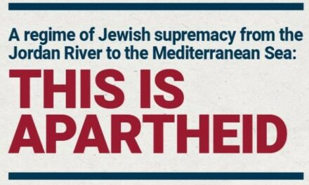 Honneur à B'Tselem qui défie le régime de l'apartheid