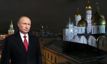 Vœux du Nouvel An de Vladimir Poutine