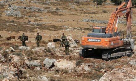 Des terres arpentées pour être saisies à l'est de Bethléem