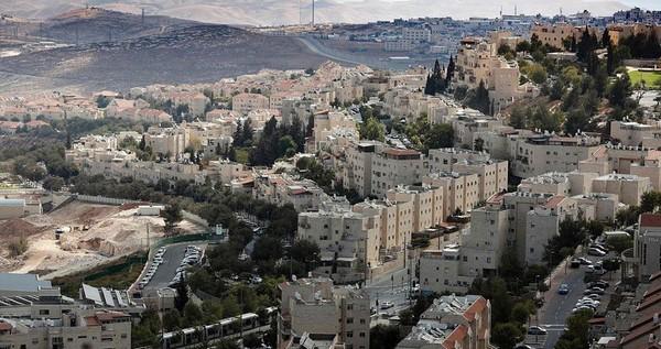Projet d'extension de la colonie de Pisgat Zeev au nord de Jérusalem occupée