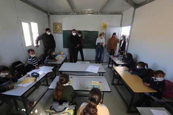 Des diplomates européens soulignent l'importance d'assurer une vie sûre aux palestiniens de Masafer Yatta, au sud d'Hébron