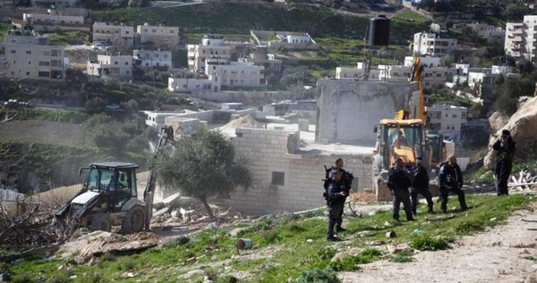 L'ONU demande à Israël d'arrêter immédiatement la démolition des maisons palestinienne