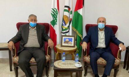 Le Hamas et le Commandement général discutent au Liban des dernières évolutions palestiniennes