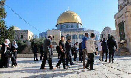 Des colons s'introduisent dans la mosquée d'Al-Aqsa