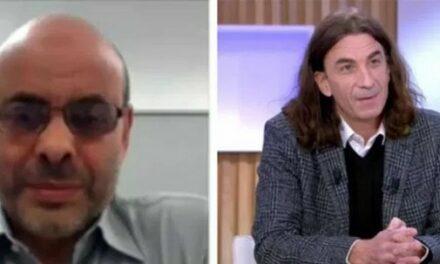 Abbas Aroua (le chauve), un coiffeur « halal » pour Didier Lemaire (aux cheveux longs)