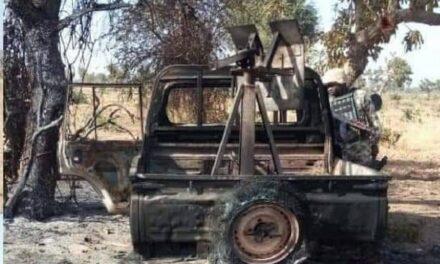 Reddition ou destruction des groupes armés : une colonne de rebelles vitrifiée