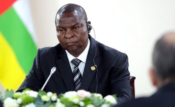 Le président Touadéra, réélu, parle de son second mandat
