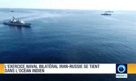L'exercice naval bilatéral Iran-Russie se tient dans l'océan Indien