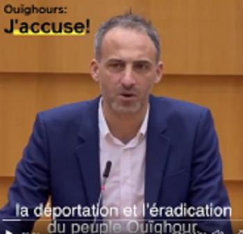 Raphaël Glucksmann, le nouveau substitut de la cause ouïghour