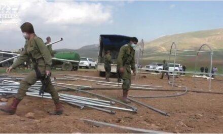 Répétition des démolitions à Khirbet Humsah al-Foqa, dans le nord de la vallée du Jourdain