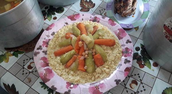 Le couscous maghrébin à Gaza