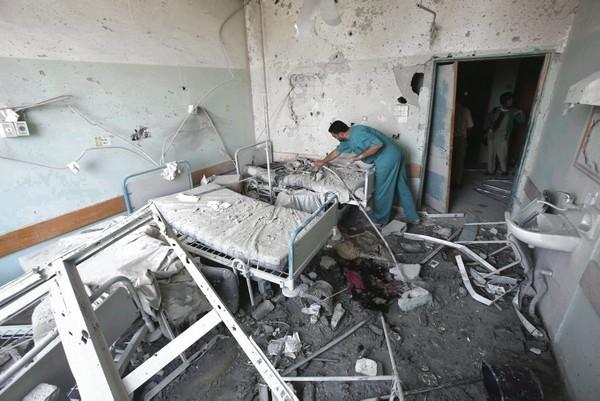 L'attaque d'un hôpital pour enfants à Gaza