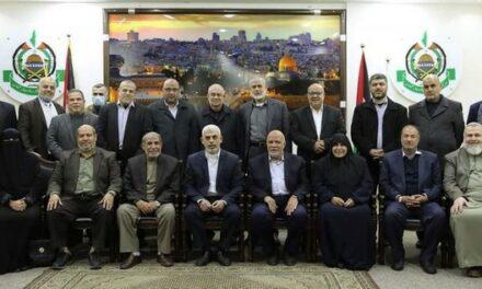 Le Hamas révèle les noms de ses dirigeants élus dans la bande de Gaza