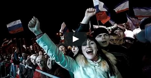 18 mars 2014, la Crimée redevient russe (2) : la joie d'un peuple uni, quatre jours de liesse populaire
