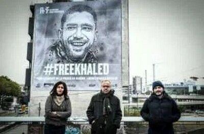 K. Drareni détenu d'opinion de RSF