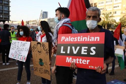 Une belle manifestation conjointe entre Palestiniens et Israéliens passée sous silence…