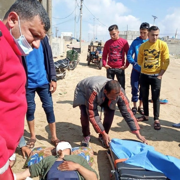 Deux pêcheurs palestiniens de Gaza blessés par la marine israélienne ce vendredi 5 mars 2021