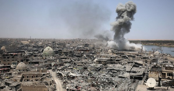 Depuis 2001, les États-Unis et leurs alliés ont largué plus de 326 000 bombes et missiles à l'étranger