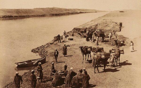 Canal de Suez : ces travailleurs égyptiens qui ont été effacés de l'Histoire