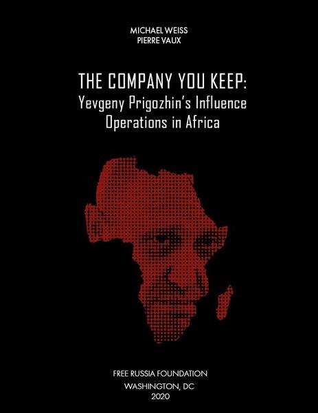 Le livre 'The Company You Keep' contre Evgueni Progozhine et Luc Michel