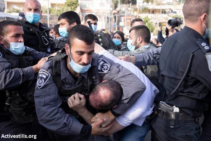 La violence raciste a toujours été dans la nature de l'État sioniste