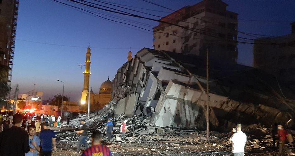 Gaza: Le ciblage des tours résidentielles est un crime de guerre composé