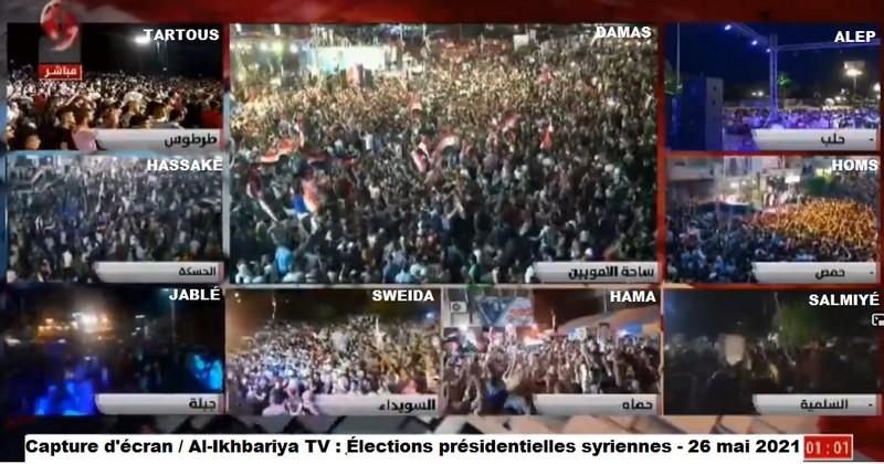 Syrie / Allocution du Président Bachar al-Assad suite aux élections présidentielles du 26 mai 2021