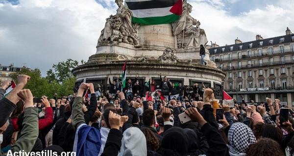 Pour la Palestine, le droit de manifester doit être respecté